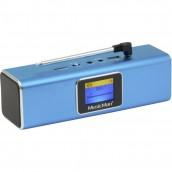 Speaker Portatile Bluetooth Wireless DAB Azzurro, BT-X29