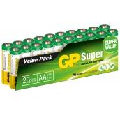 Set 20 Batterie AA Stilo GP Super