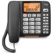 SIEMENS Telefono a filo C/VIVAVOCE BLACK DL580