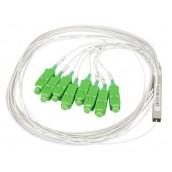 Splitter Sfioccamento Fibra Ottica PLC 16 LC/APC Monomodale