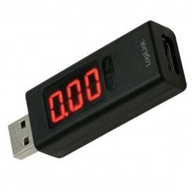 Rilevatore di Tensione con LED Luminoso per Dispositivi USB