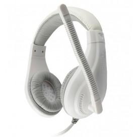 Cuffie Gaming con Microfono Bianco HS-1520WS