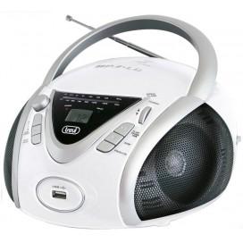 TREVI RADIO LETTORE CD/MP3 INGRESSO USB BIANCO 0054201