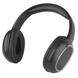 Cuffia Stereo Bluetooth con Microfono Nero