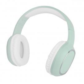 Cuffia Stereo Bluetooth con Microfono Verde