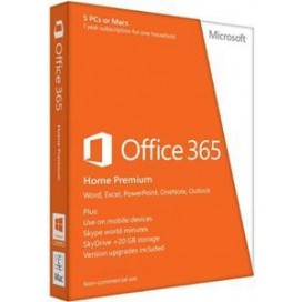 MICROSOFT OFFICE 365 HOME PREMIUM 1 YEAR 5 LICENZE OFFICE365HP99