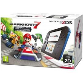 NINTENDO Nintendo 2DS HW Nero e Blu + Mario Kart 7 2205049