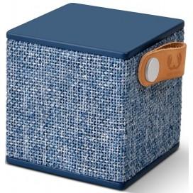 FRESH'N REBEL Minispeaker Cube Bluetooth in tessuto Indigo / Blu 1RB1000IN