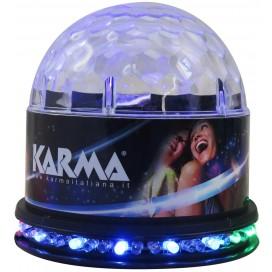 KARMA Effetto luce a led 3 x 1W + 48 x 5mm CLB6