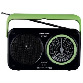 MAJESTIC RADIO PORTATILE VERDE RT182GR