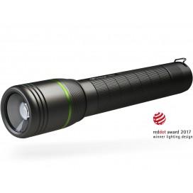 Torcia Cree LED XP-G2 1000lm idrorepellente alluminio USB PR57