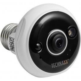 IR LED E27 PIR, TX-58 Telecamera Dome FullHD per Interni