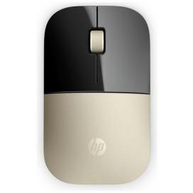 HEWLETT PACKARD HP Z3700 GOLD WIRELESS MOUSE X7Q43AAABB