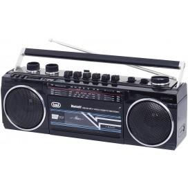 TREVI RR 501 BT Nero Radio Cassetta USB SD BT Mp3 0RR50100