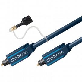 Cavo ottico digitale audio Toslink/Toslink 15 m