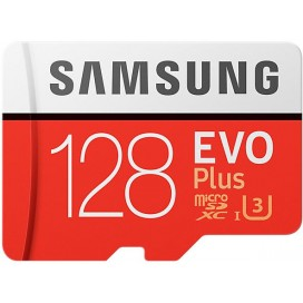 SAMSUNG MICRO SD EVO PLUS 128GB UHS I ADATTATORE MBMC128GAEU