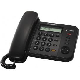 PANASONIC TELEFONO FILO DISPLAY NERO KXTS580EX1B