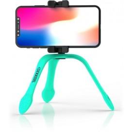 Treppiedi Flessibile XL con Telecomando Bluetooth Turchese