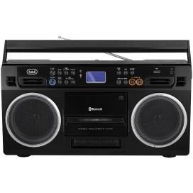 TREVI Radioregistratore con cassetta USB e MP3 BT 0RR50400