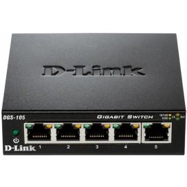 D-LINK SWITCH 5 PORTE GIGABIT 10/100/1000 METAL DGS105