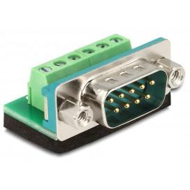 Adattatore DB9 pin Maschio Terminal Block 6 pin
