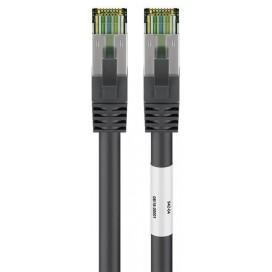 Cavo di rete Patch in rame Cat. 8.1 Nero SFTP LSZH 3m