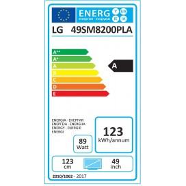 LG LED 49 4K 4HDMI 2USB HEVC SMART 49SM8200