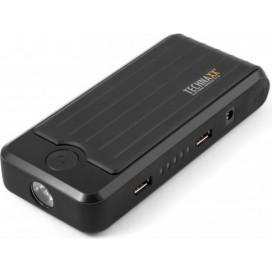 Jump Starter Power Bank 10A con LED 2x USB, TX-78