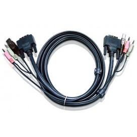 Cavo KVM USB DVI-D Single Link 3m, 2L-7D03U