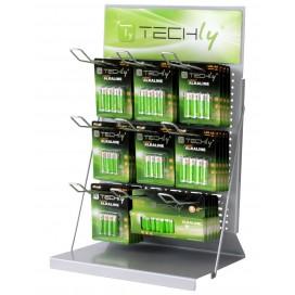 Espositore Stand da Banco per Batterie 50cm