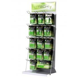 Espositore Stand da Banco per Batterie 80cm