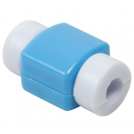 Cappuccio di Protezione per Cavo USB Azzurro