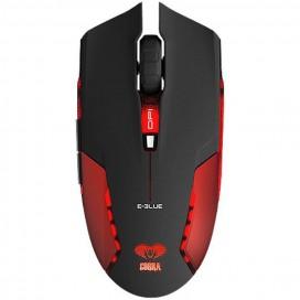 Mouse Gaming USB 1600 dpi Cobra Junior Rosso EMS151RE