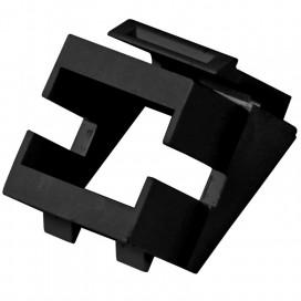 Adattatore Keystone SC/LC Simplex Nero