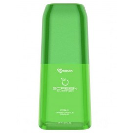 Spray di Pulizia con Panno in Microfibra Mela Verde