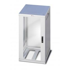 Armadio ETSI 21'' 24 unità prof. 600 grigio