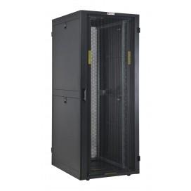 Armadio NetRack 19'' 600x1000 42 Unità Ventilato Nero da Assemblare