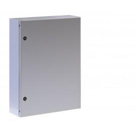 Armadio Rack 19'' a muro 13U grigio IP65 porta cieca prof. 200mm