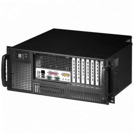 Chassis Industriale Rack 19''/Desktop 4U Ultra Compatto Nero