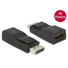 Adattatore DisplayPort 1.2 Maschio a HDMI femmina 4K Passivo