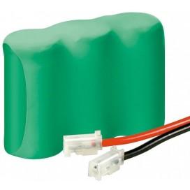 Batterie ricaricabili NiMH 2/3AA 700 mAh 3.6V connettore universale