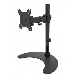 Supporto da scrivania per 1 Monitor LCD 13-27'' con base h.400mm