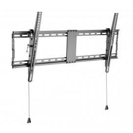 Staffa a muro inclinabile TV LED LCD 43-90'' robusta e pieghevole