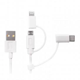 Cavo di Ricarica e Dati USB 3-in-1