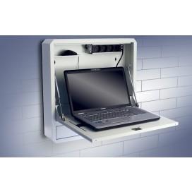 Box di Sicurezza per Notebook e Accessori per LIM Bianco RAL9010