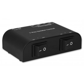 Commutatore audio per casse acustiche 2 vie con Terminali a pressione