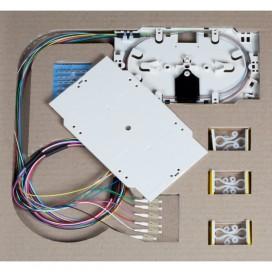 Cassetta di giunzione con 12 Pigtail LC multimodali OM2