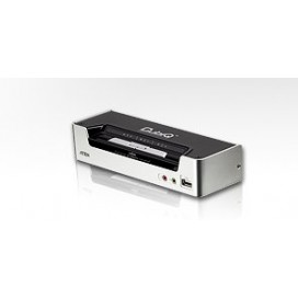 KVM switch HDMI 2 USB + Audio Desktop