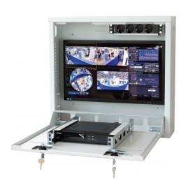 Box di sicurezza per DVR e sistemi di videosorveglianza Bianco RAL9016