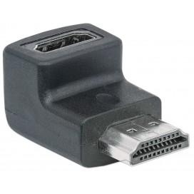 Adattatore HDMI M/F 90° verso l'alto